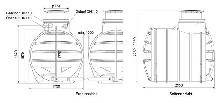 Technische Details AQa.Line 8900L
