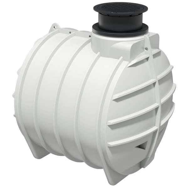 AQa.Line Trinkwasserspeicher 6000L inkl. Abdeckung