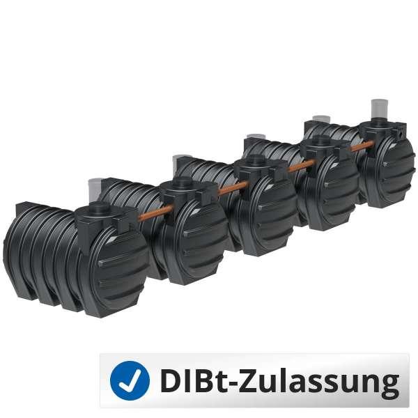 AQa.Line Senkgrube 15000 L (Sammelgrube mit DIBt-Zulassung) – grundwasserstabil