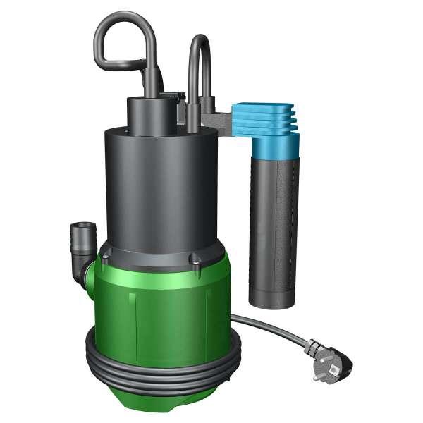 Schmutzwasserpumpe TPV 200 V mit vertikalem Hubschalter