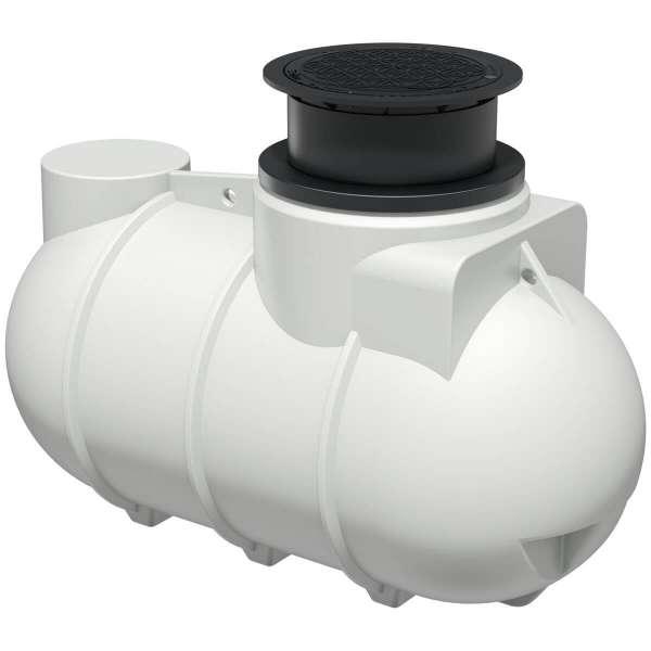 AQa.Line Trinkwasserspeicher 2000L inkl. Abdeckung